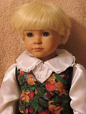 "1997 Faithful Friends ""BENJAMIN"" by Heidi Ott Vinyl and Cloth Doll 18"""
