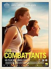 THE FIGHTER ADDESTRAMENTO DI VITA LES COMBATTANTS MANIFESTO ADELE HAENEL AZAIS