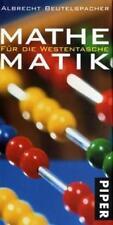 Mathematik für die Westentasche  von Albrecht Beutelspacher signiert