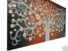 210cmx 70cm Secret Tree Art Australian  Oil Painting Signed COA  quality