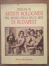 DISEGNI DI ARTISTI BOLOGNESI NEL MUSEO DELLE BELLE ARTI DI BUDAPEST - A. Czère