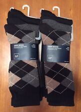 NWT men's GAP 2 sets of 3 pairs socks- brand new with tags