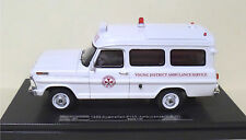 1969 Australian Ford F-100 Ambulance - Young NSW - Resin 1:43 scale