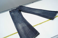 TOMMY HILFIGER Sally Damen Hose Jeans 26/32 W26 L32 stone wash used blau TOP #45