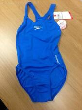"Speedo Swimsuit Swimming Costume Endurance+ Blue 30"" BNWT"