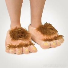 Furry Vengeance - Barbaric Hobbit Slippers Fluffy Slippers Warm Indoor Slippers