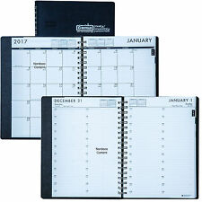 2017 HOD289632 House of Doolittle 24 Hour Daily Monthly Planner 7 x 10""