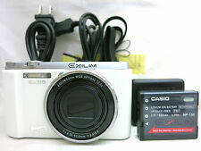 Casio Exilim EX-ZR1000 16.1 MP Digital Camera - White *immaculate *warranty