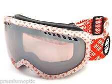 SCOTT esquí Nieve FAZE Gafas PATTERNMASH ROJO/ esféricas Plata CROMO 230807