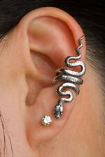 Sterling Silver SNAKE Ear Cuff by Marty Magic