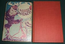 Murder Madness by Murray Leinster 1949 2nd edition in dust jacket