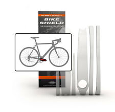 Bike Shield - Crank Shield - Bike Frame Protector - Clear