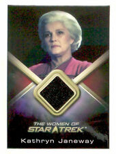 WOMEN OF Star Trek costume trading card KATHRYN JANEWAY Kate Mulgrew WCC2 black