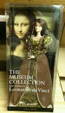 Barbie Museum Art Da Vinci Mona Lisa Doll Pink Label