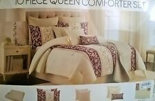10 Piece Queen Comforter Set - On sale for missing coverlet