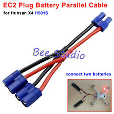 Hubsan H501S Accessories Battery Parallel Cable EC2 Plug for Long Time Flying