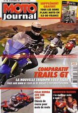 MOTO JOURNAL 1738 DUCATI 1100 S Multistrada BMW R1200 GS TRIUMPH Tiger HONDA CBR