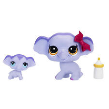 Littlest Pet Shop Pet and Friend - Elephant and Baby Elephant