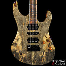 NEW SUHR CUSTOM MODERN GUITAR W/ BUCKEYE BURL TOP - CUSTOM SHOP HAND BUILT STRAT