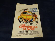ORIGINAL MOVIE POSTER / AFFICHE CINEMA - EEN DOLLE KEVER OP SAFARI / COCCINELLE