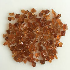 50 CT SCOOP NATURAL HESSONITE GARNET ROUGH ORANGE BROWN GEMSTONES LOOSE LOT RAW