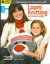 PATTERN BOOK! LOOM KNITTING FOR MOMMY & ME! ANKLETS~BOOTIES~MONKEY PILLOW~JACKET