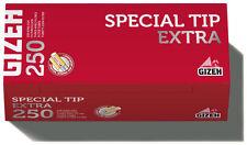 2000 (8x250) GIZEH Special Tip EXTRA (Hülsen, Filterhülsen, Zigarettenhülsen)