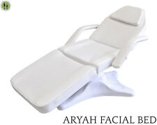 Facial Bed Off White Hydraulic Gas Lift Beauty Salon Equipment WATCH OUR VIDEO