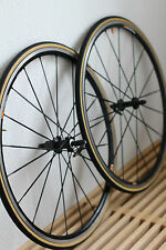 "Mavic Ksyrium SSC BLACK TUBULAR 28"" PEDALI Set wheelset Nero"