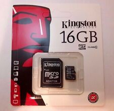 Kingston 16GB Micro SD SDHC UHS-I Memory Card Class 10