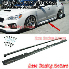15-17 Subaru WRX STi Bottom Line CS Style Side Skirts (Urethane)