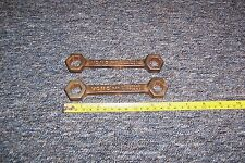 Vintage Vono bedstead spanner wrench x 2 both used ideal stage/film prop see det