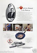 Metallwaren Fabrik Beka Betzingen XL Reklame 1956 Reutlingen Braun Kemmler Ad