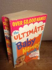 Ultimate Baby Names Book Stafford 2005,  OVER 54,000 NAMES... PAPERBACK