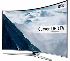 "SAMSUNG ue43ku6670 SMART 4k ULTRA HD CURVO HDR 43"" LED TV WIFI incorporato Argento"
