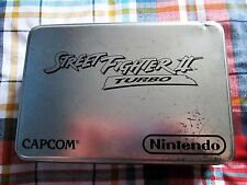 Steet Fighter 2 Turbo in Limited Edition Tin for SNES PAL