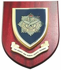 QUEENS GURKHA LOGISTICS REGIMENT CLASSIC HAND MADE  REGIMENTAL MESS PLAQUE