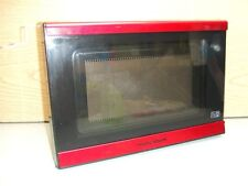 Morphy Richards EM820CP(F)-PM Microwave Oven Front Door Panel Glass Black/Red
