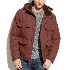 Hawke & Co Outfitter Coat , Men's Rust Small Hooded Barn Jacket