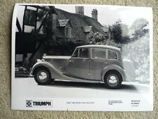 TRIUMPH 1800 SALOON (RENOWN STYLE) PRESS PHOTO Brochure related jm