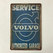 VOLVO  AUTHORIZED GARAGE Vintage Tin Sign Bar pub home Wall Decor Metal Poster
