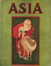 1923 Asia December - Angkor; Bali; Can Japan recover? Abyssinia; North Africa