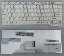 CLAVIER KEYBOARD QWERTY US KB.INT00.668 AEZG5R00120 MP-08B43U4-9203 WHITE/BLANC