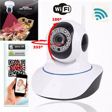 Wireless WiFi HD 720P IP Camera Home Security System Network CCTV Night Vision