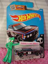 2016 i Hot Wheels '73 BMW 3.0 CSL RACE CAR #190✰Black; Castrol 16 ✰✰BMW✰Case N/P