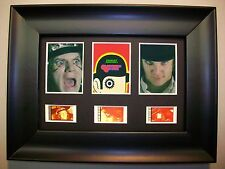 CLOCKWORK ORANGE Framed Trio Movie Film Cell Memorabilia Compliments dvd poster