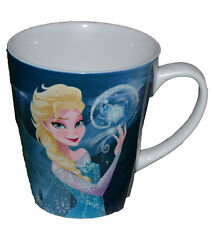 Authentic Disney Frozen Elsa Coffee Cup MUG Microwave Safe +Free Stickers