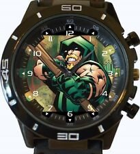 Green Arrow Comic Style New Gt Series Sports Unisex Gift Watch