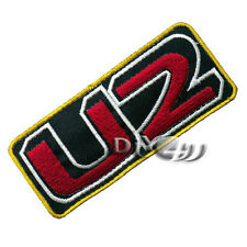 U2 Embroidered Iron on Patch Badge Punk Rock Metal