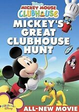 Disney's Mickey Mouse Clubhouse: Mickey's Great Clubhouse Hunt (DVD, 2007)^^